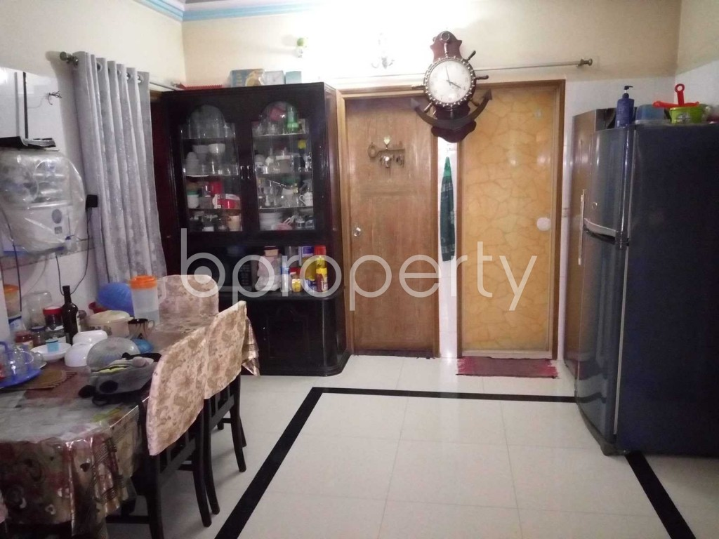 Dine/Dining - 3 Bed Apartment for Sale in Badda, Dhaka - 1845727