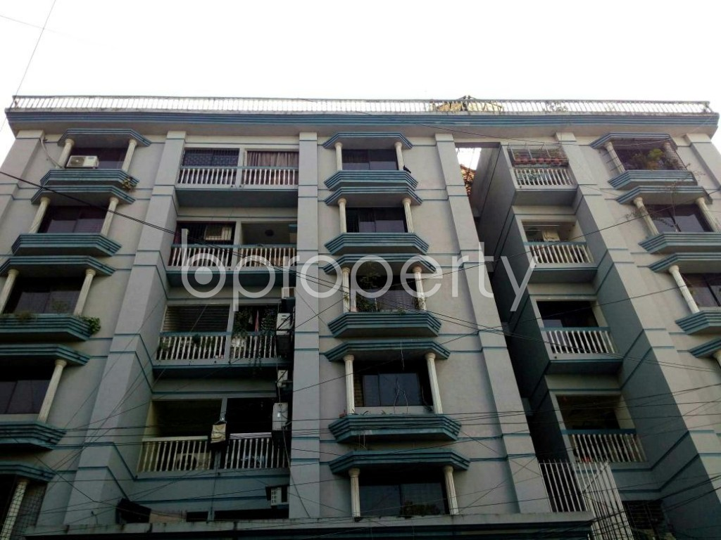 Front view - 3 Bed Apartment to Rent in Dhanmondi, Dhaka - 1846209
