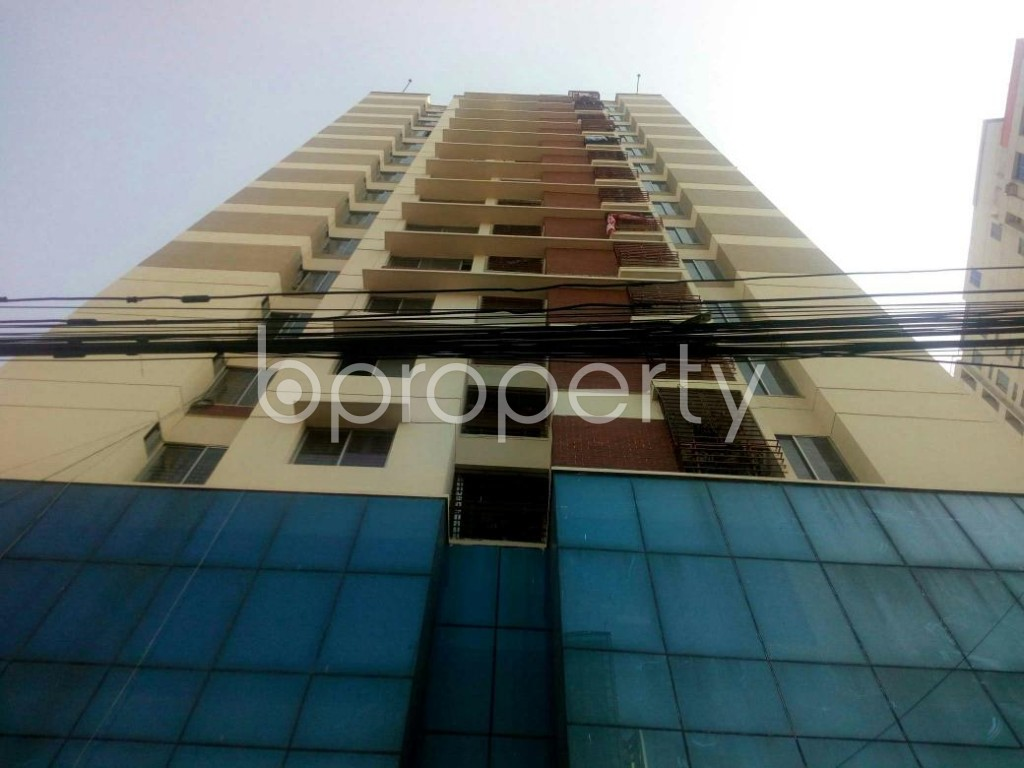 Front view - 2 Bed Apartment for Sale in Badda, Dhaka - 1846351