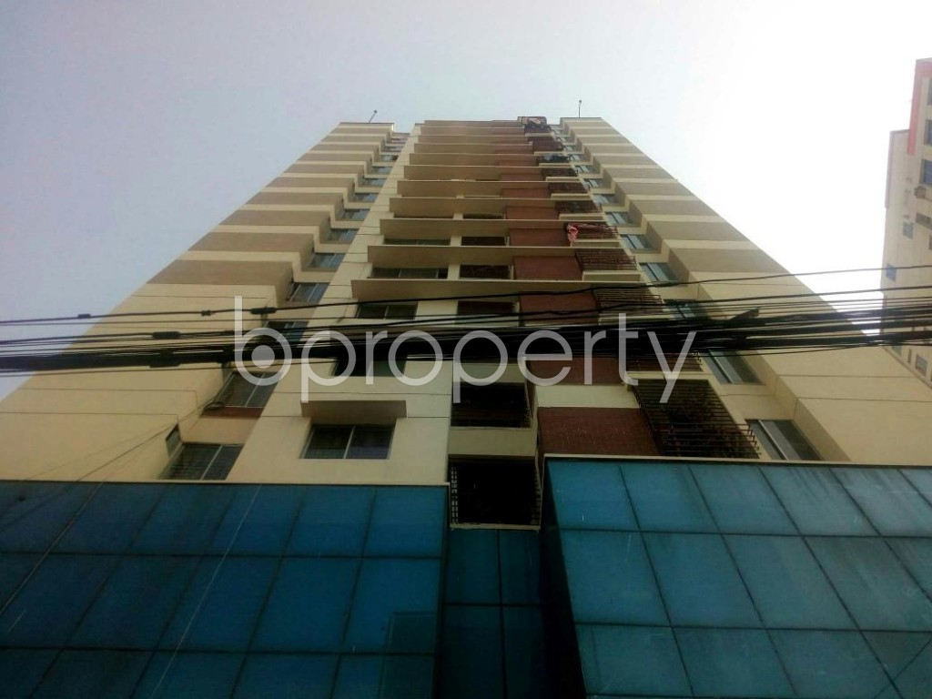 Front view - 3 Bed Apartment for Sale in Badda, Dhaka - 1846352