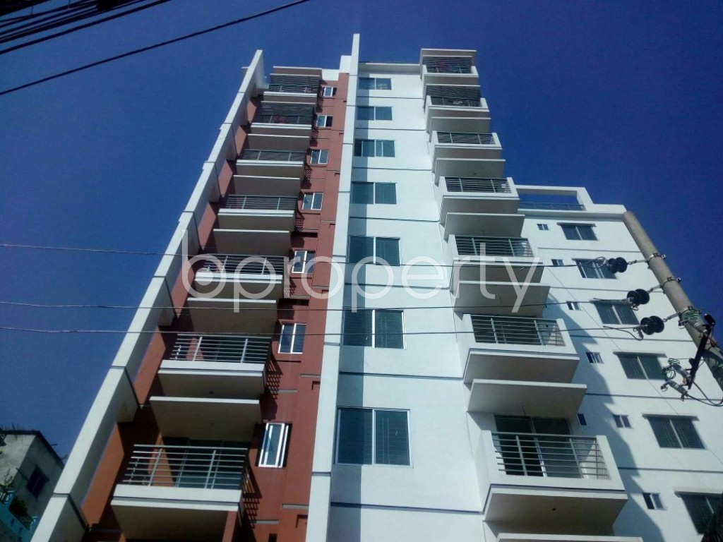 Front view - 3 Bed Apartment for Sale in Badda, Dhaka - 1846420