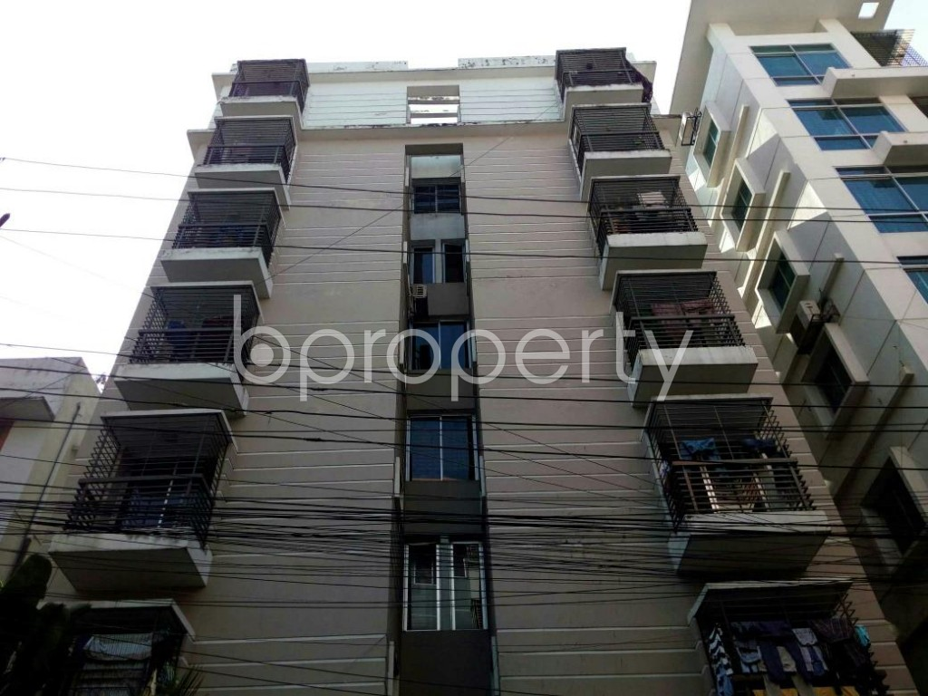 Front view - 2 Bed Apartment to Rent in Lalmatia, Dhaka - 1846783