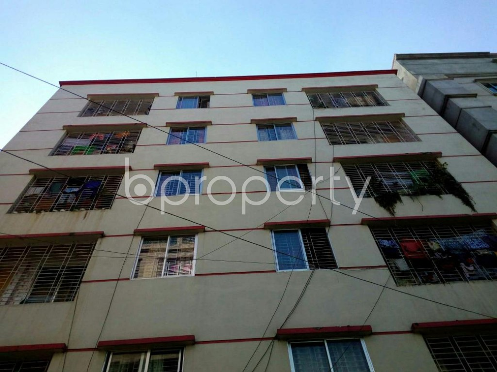 Front view - 2 Bed Apartment for Sale in Mirpur, Dhaka - 1846795