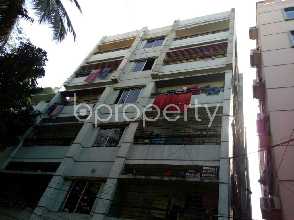 Outside view - 3 Bed Apartment to Rent in Lalmatia, Dhaka - 1846813