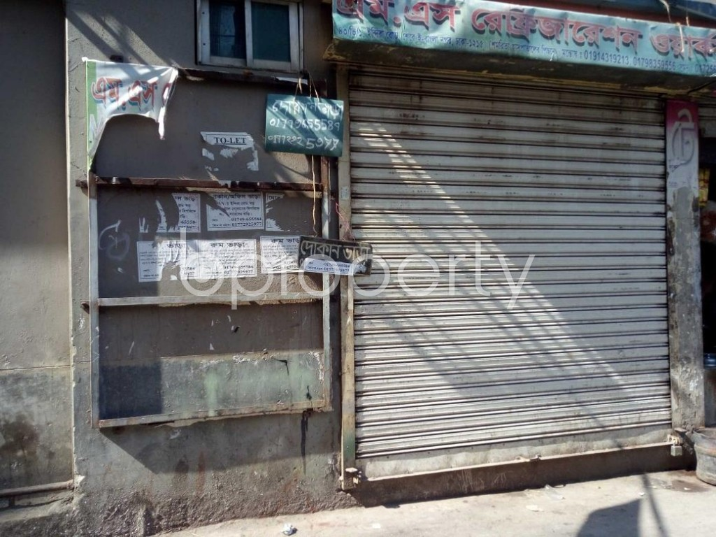 Front view - Shop to Rent in Tejgaon, Dhaka - 1846855