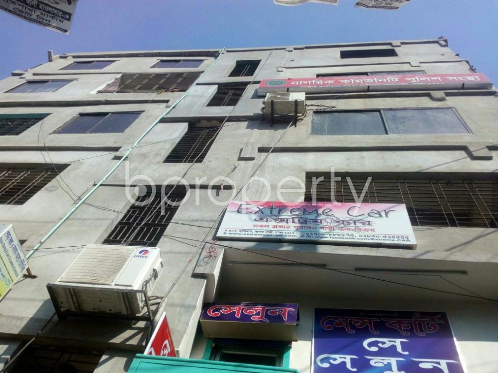 Front view - Shop to Rent in Malibagh, Dhaka - 1846883