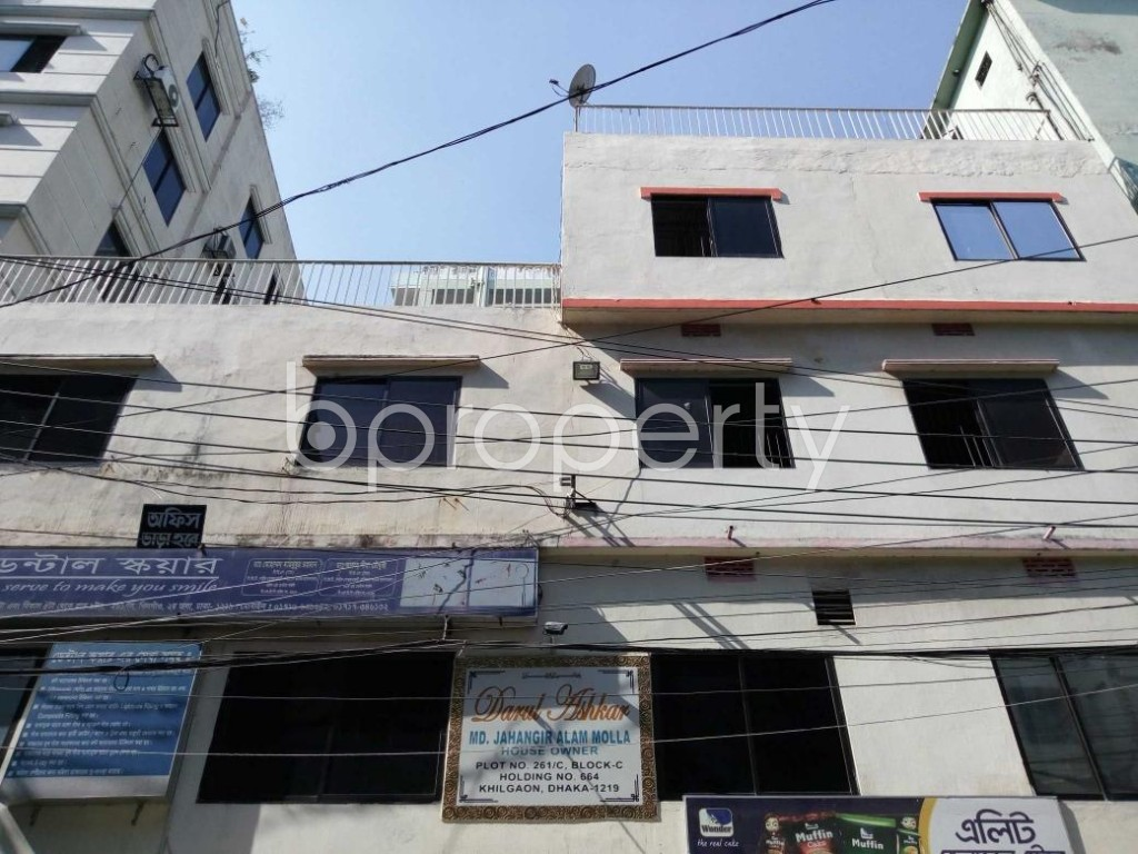 Front view - Office to Rent in Khilgaon, Dhaka - 1846985