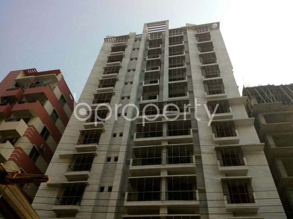 Front view - 3 Bed Apartment for Sale in Jhautola, Cumilla - 1847191