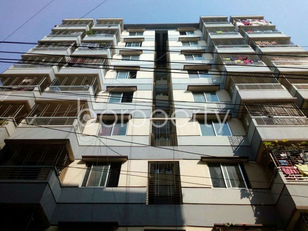 Front view - 3 Bed Apartment for Sale in Mirpur, Dhaka - 1847201