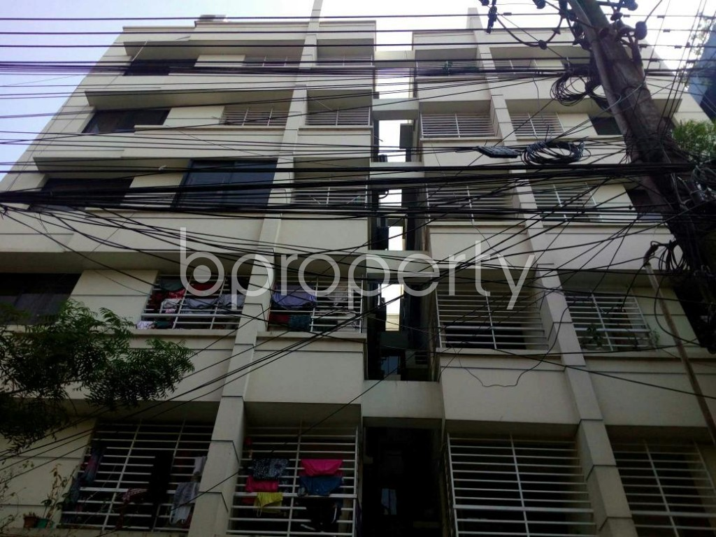 Front view - 3 Bed Apartment for Sale in Uttara, Dhaka - 1847208