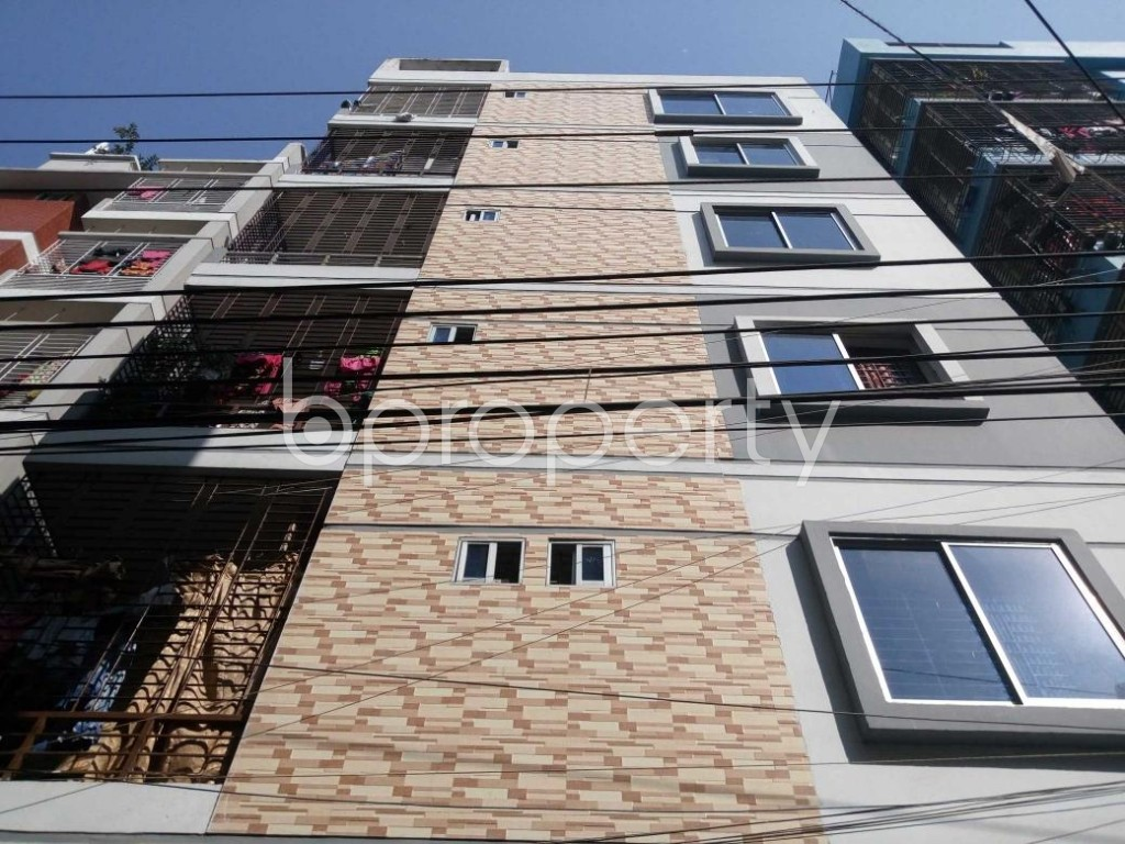 Front view - 3 Bed Apartment for Sale in Mirpur, Dhaka - 1847433