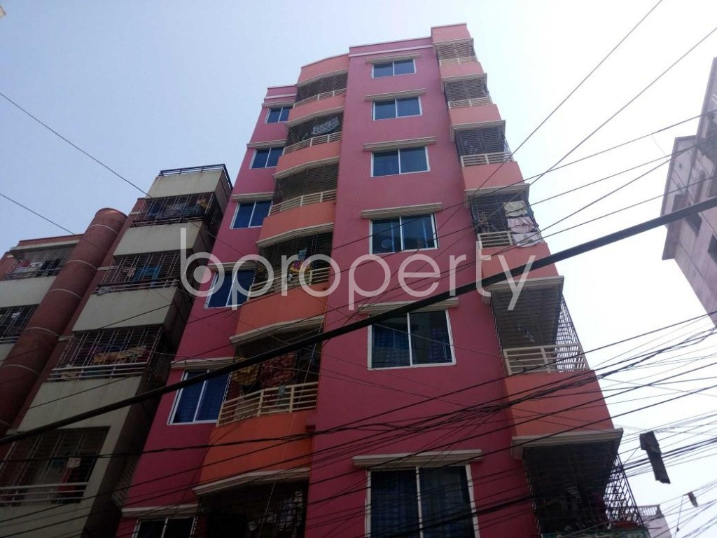 Front view - 3 Bed Apartment for Sale in Mirpur, Dhaka - 1847446