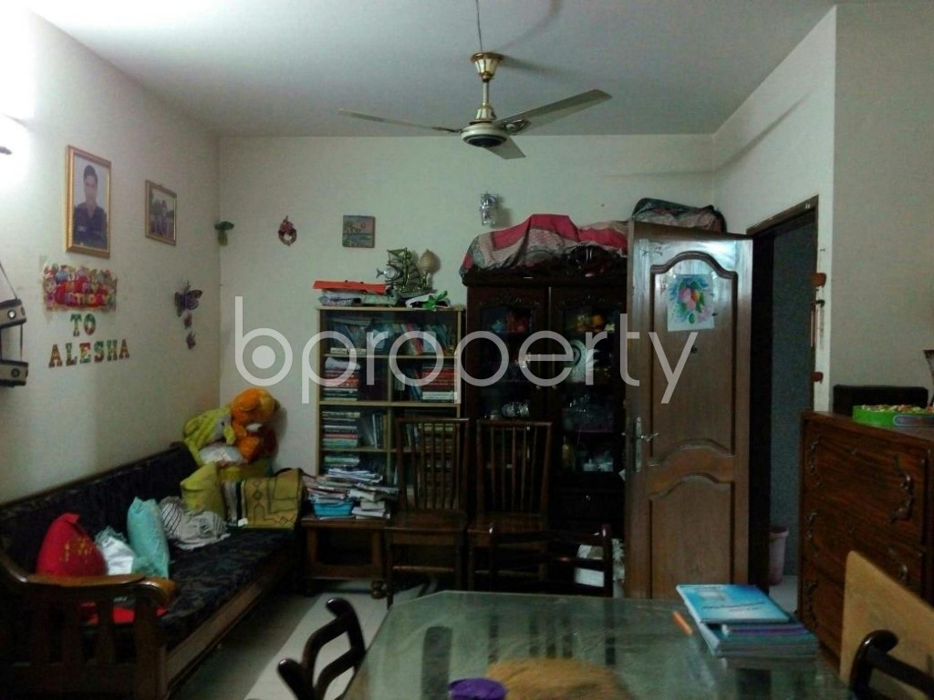 Dining area - 2 Bed Apartment to Rent in Mohammadpur, Dhaka - 1847628