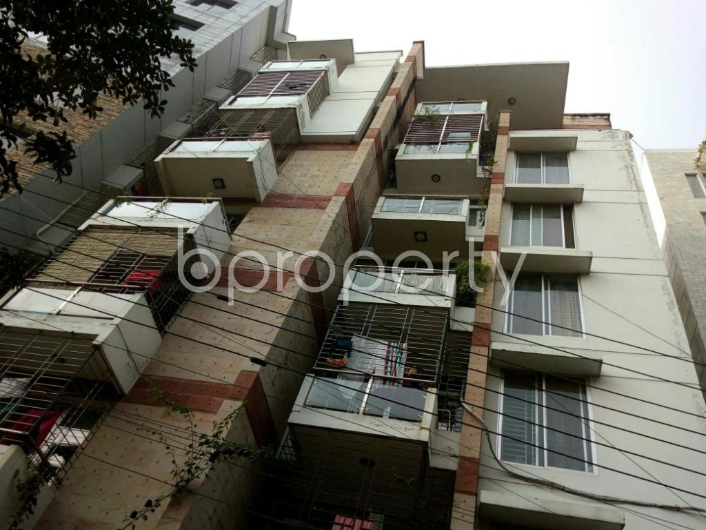 Front view - 3 Bed Apartment to Rent in Lalmatia, Dhaka - 1847663