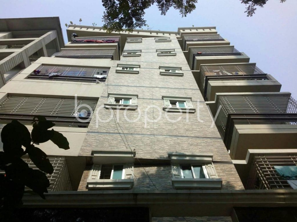 Front view - 1 Bed Apartment to Rent in Bashundhara R-A, Dhaka - 1847671
