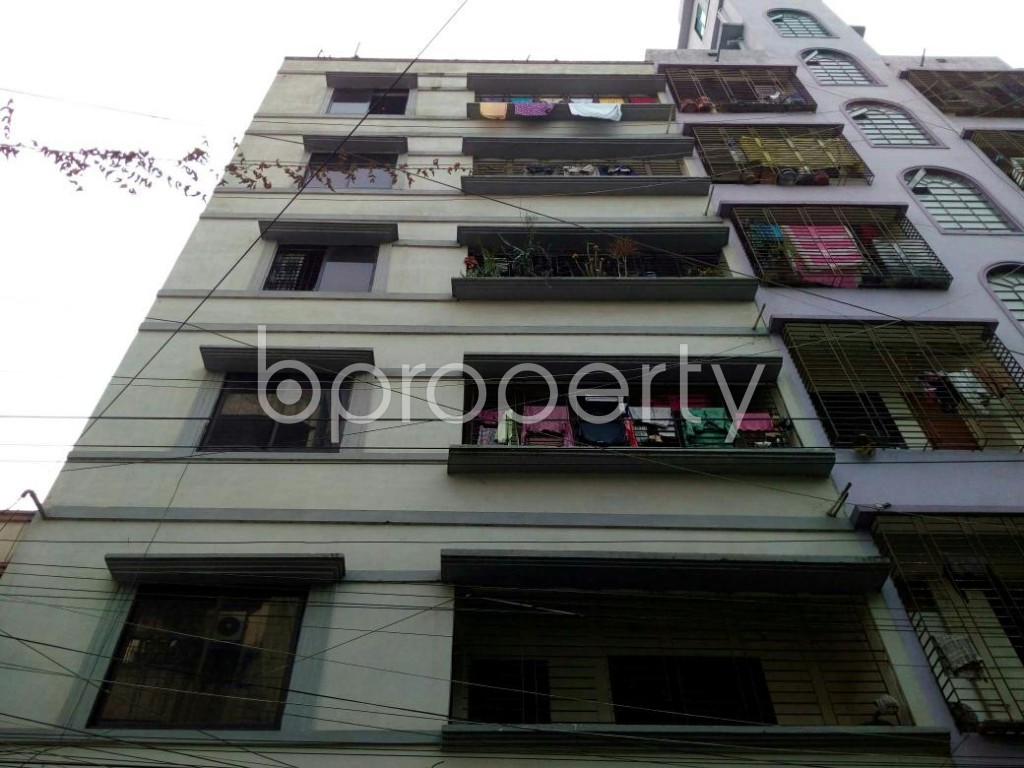 Front view - 2 Bed Apartment to Rent in Lalmatia, Dhaka - 1847709