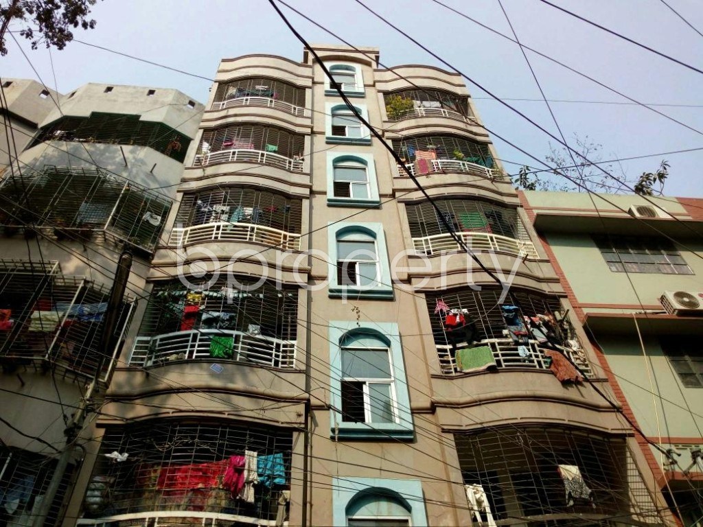 Front view - 2 Bed Apartment to Rent in Lalmatia, Dhaka - 1847750