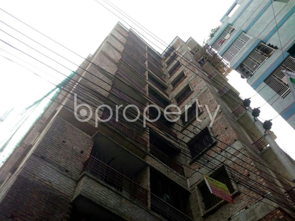 Front view - 3 Bed Apartment for Sale in Banasree, Dhaka - 1847817