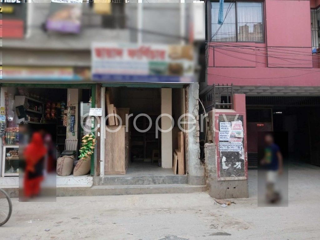 Front view - Shop to Rent in Maghbazar, Dhaka - 1847878