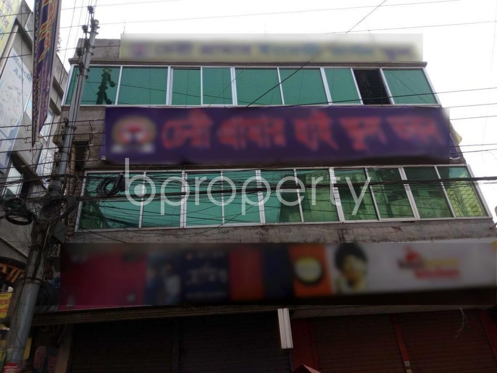 Front view - Shop to Rent in Ibrahimpur, Dhaka - 1847881