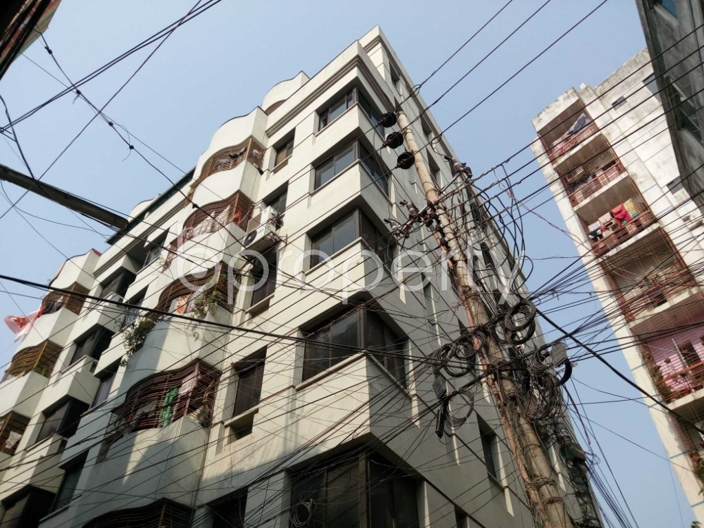 Outside view - Shop to Rent in Maghbazar, Dhaka - 1847953