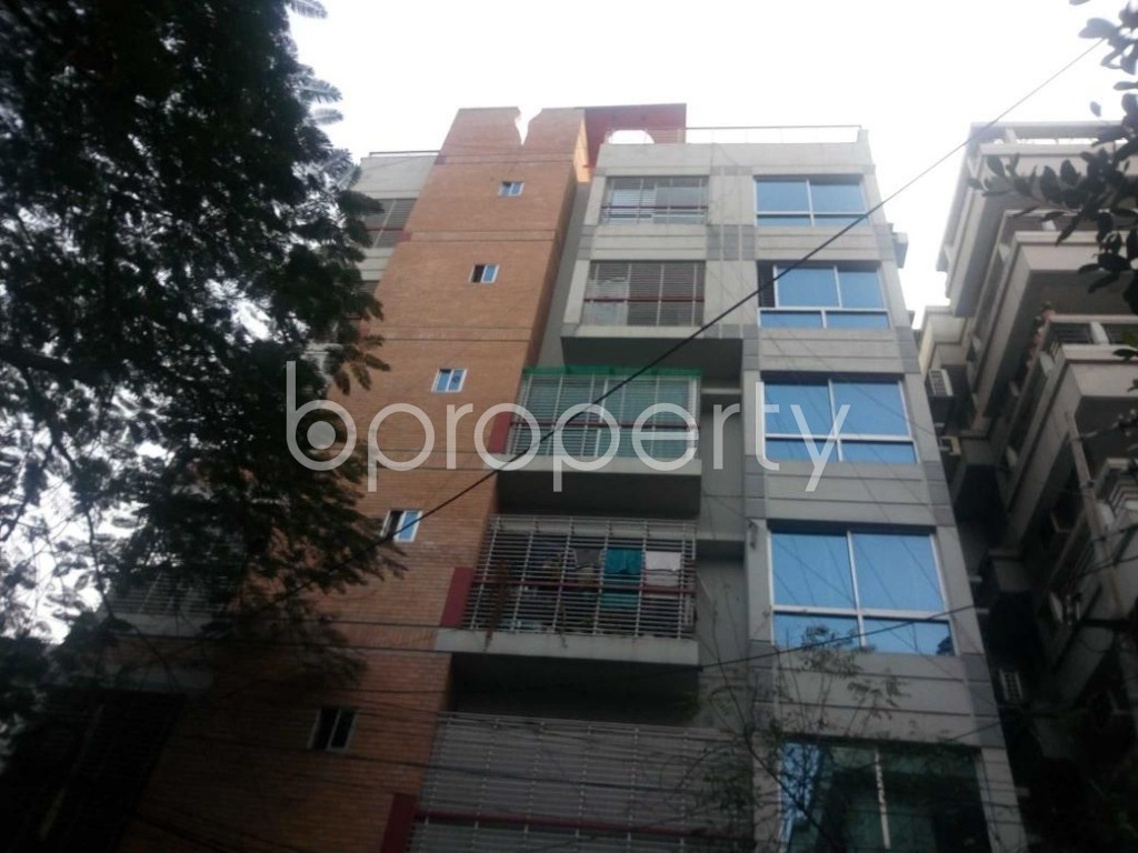 Front view - 3 Bed Apartment for Sale in Banani, Dhaka - 1847980