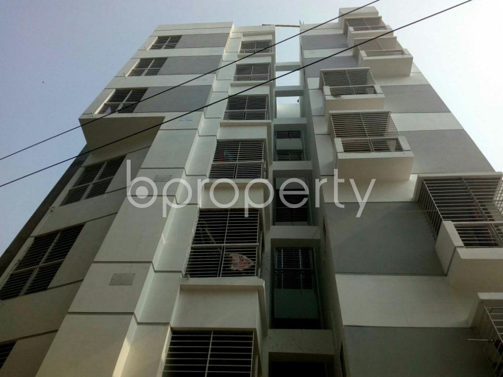 Front view - 2 Bed Apartment for Sale in Dakshin Khan, Dhaka - 1848053