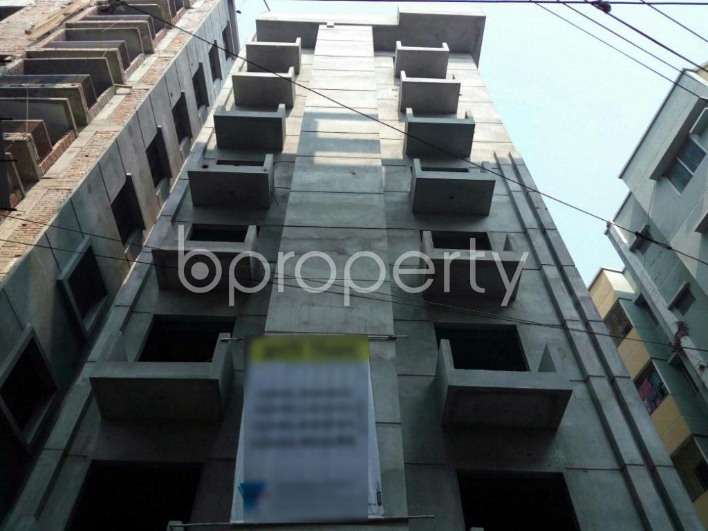 Front view - 3 Bed Apartment for Sale in Adabor, Dhaka - 1848073