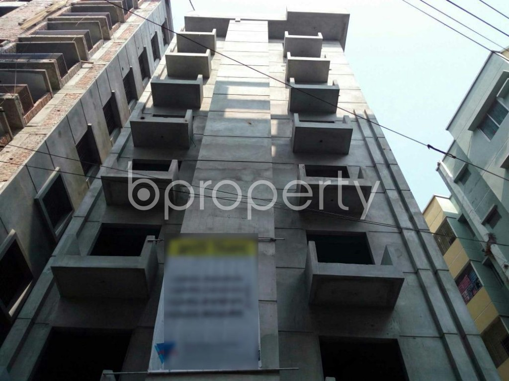 Front view - 3 Bed Apartment for Sale in Adabor, Dhaka - 1848075