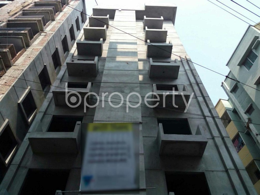 Front view - 3 Bed Apartment for Sale in Adabor, Dhaka - 1848079