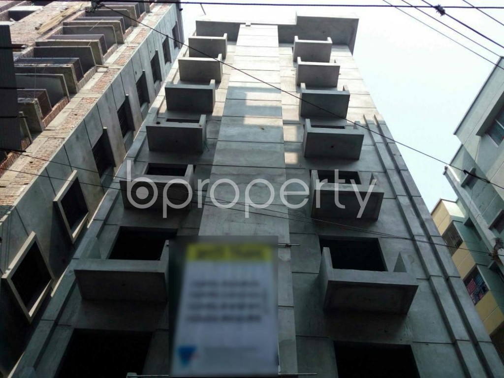 Front view - 3 Bed Apartment for Sale in Adabor, Dhaka - 1848080