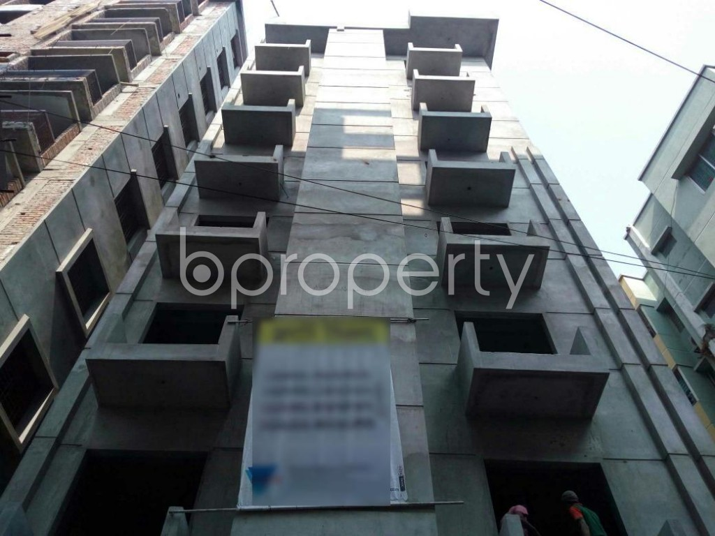 Front view - 3 Bed Apartment for Sale in Adabor, Dhaka - 1848082