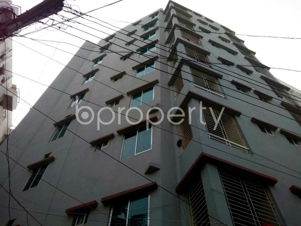 Outside view - 3 Bed Apartment to Rent in Mirpur, Dhaka - 1848095