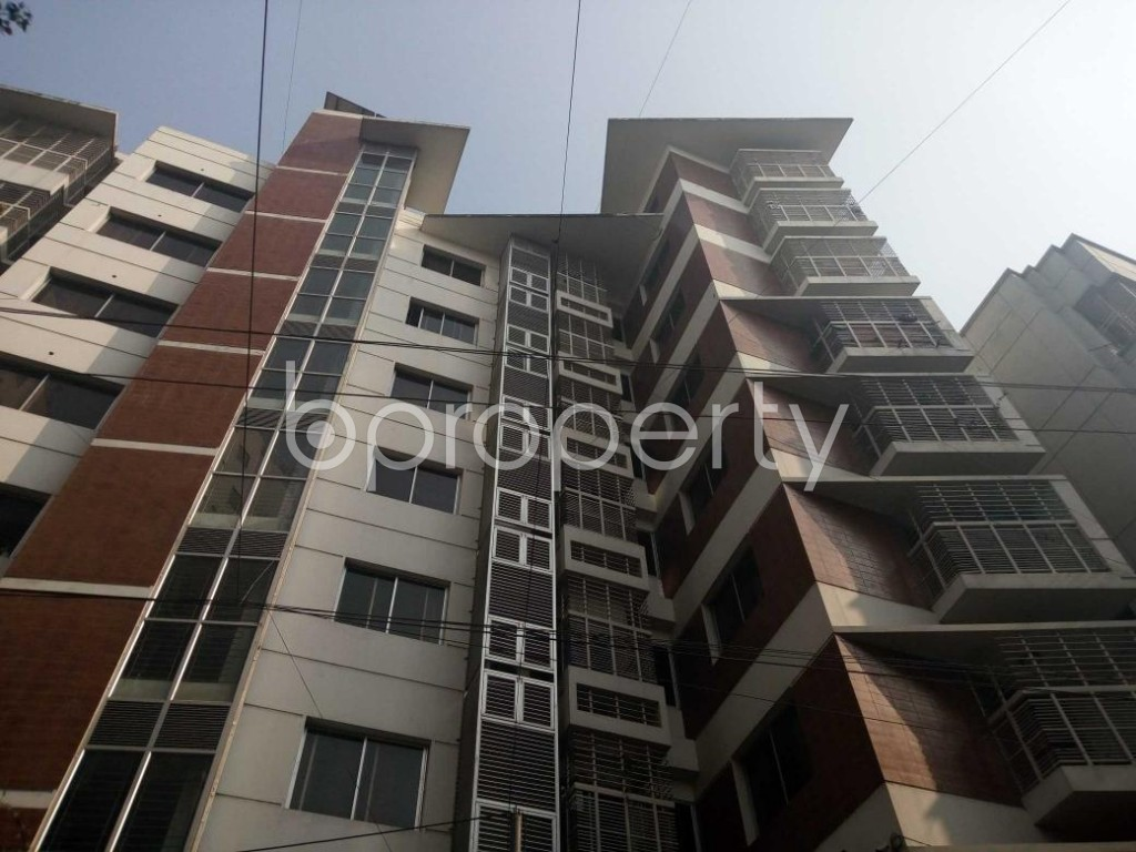 Front view - 3 Bed Apartment for Sale in Uttara, Dhaka - 1848219