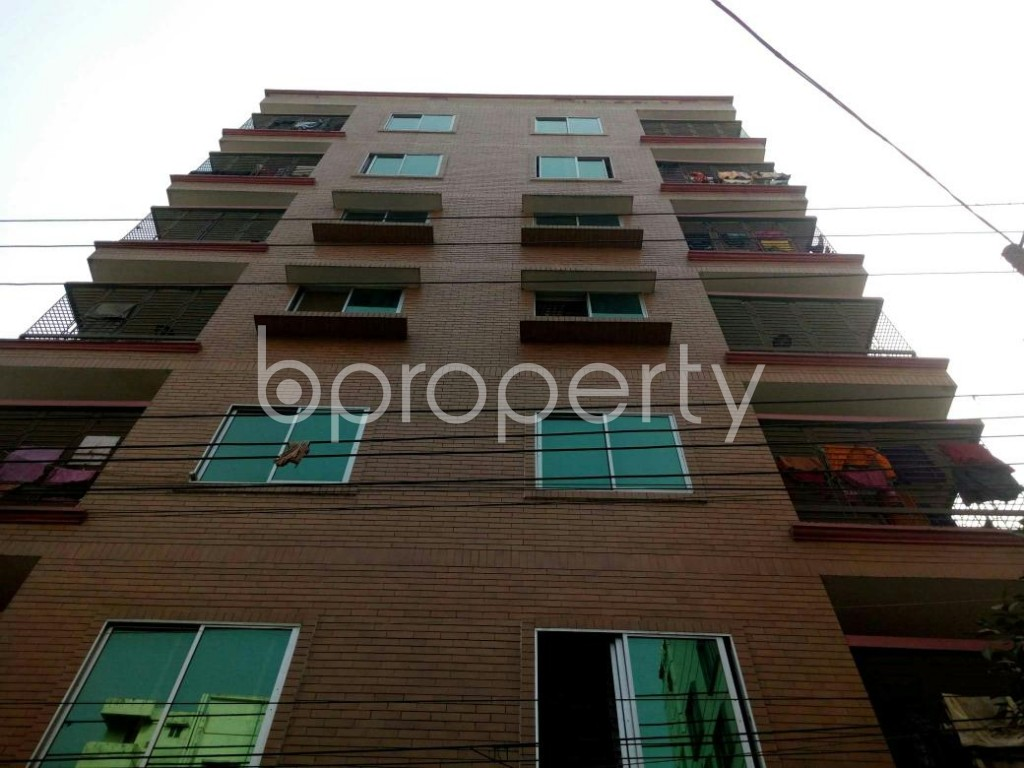 Front view - 5 Bed Apartment for Sale in Banasree, Dhaka - 1848235