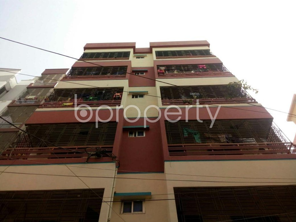 Front view - 3 Bed Apartment for Sale in Mirpur, Dhaka - 1848243