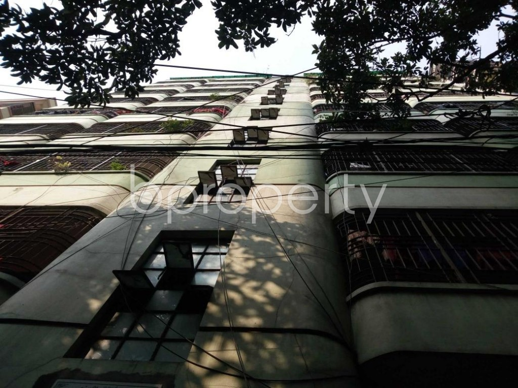 Front view - 3 Bed Apartment to Rent in Kakrail, Dhaka - 1848351