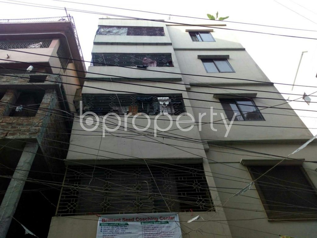 Front view - 1 Bed Apartment to Rent in Dhanmondi, Dhaka - 1848395