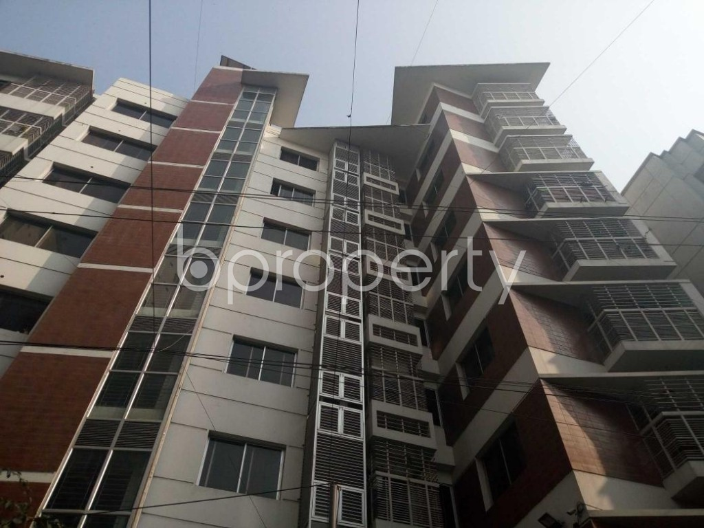 Front view - 3 Bed Apartment for Sale in Uttara, Dhaka - 1848407