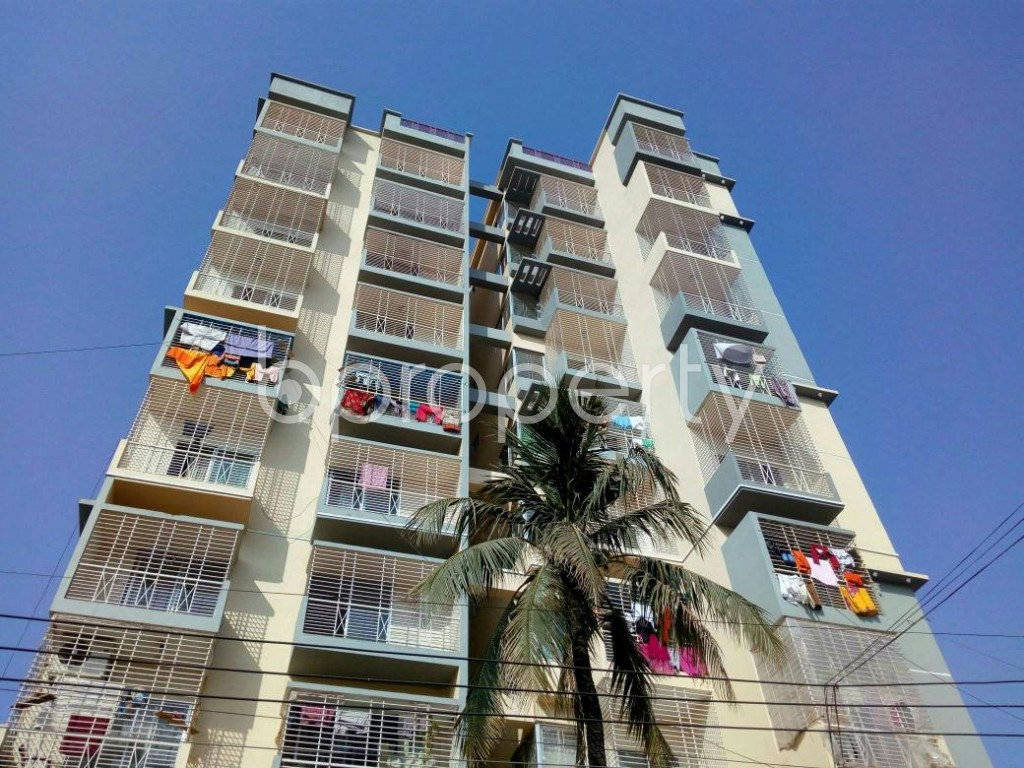 Front view - 3 Bed Apartment for Sale in Halishahar, Chattogram - 1849667