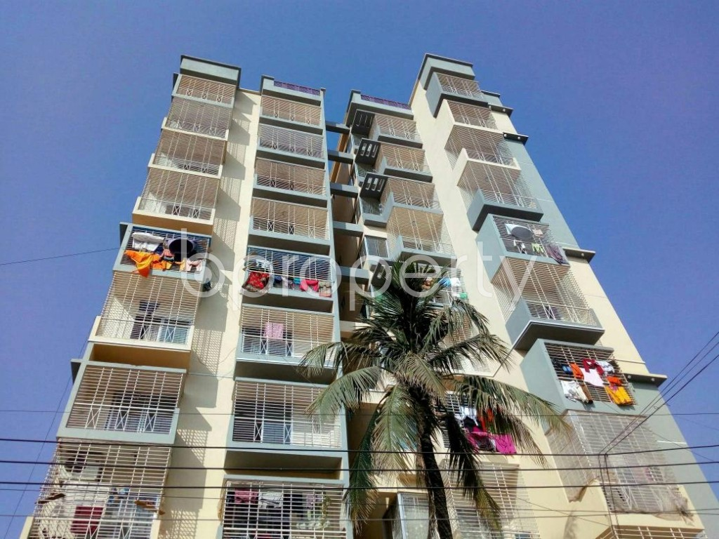 Front view - 3 Bed Apartment for Sale in Halishahar, Chattogram - 1849670