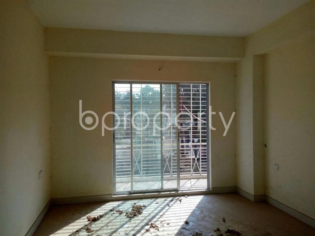 Kitchen - 3 Bed Apartment for Sale in Halishahar, Chattogram - 1849672