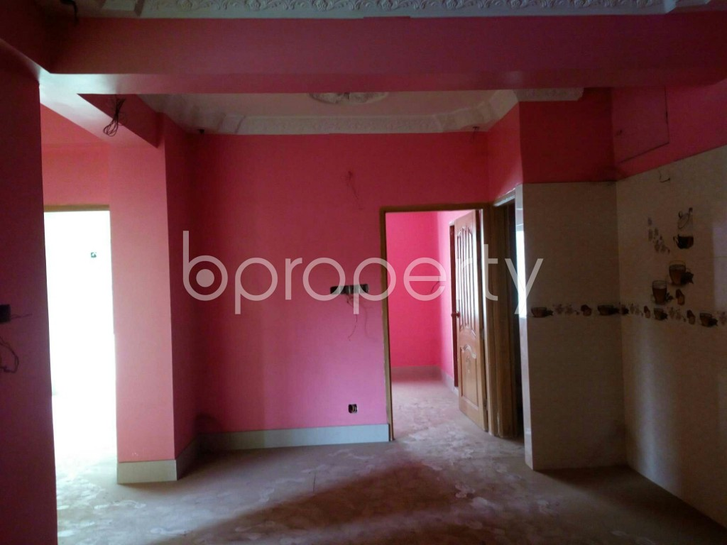 Dining area - 3 Bed Apartment for Sale in Halishahar, Chattogram - 1849842