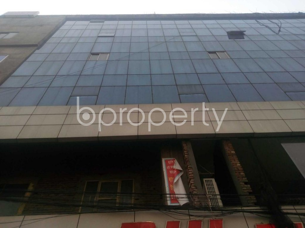 Front view - Office for Sale in Banglamotors, Dhaka - 1851354