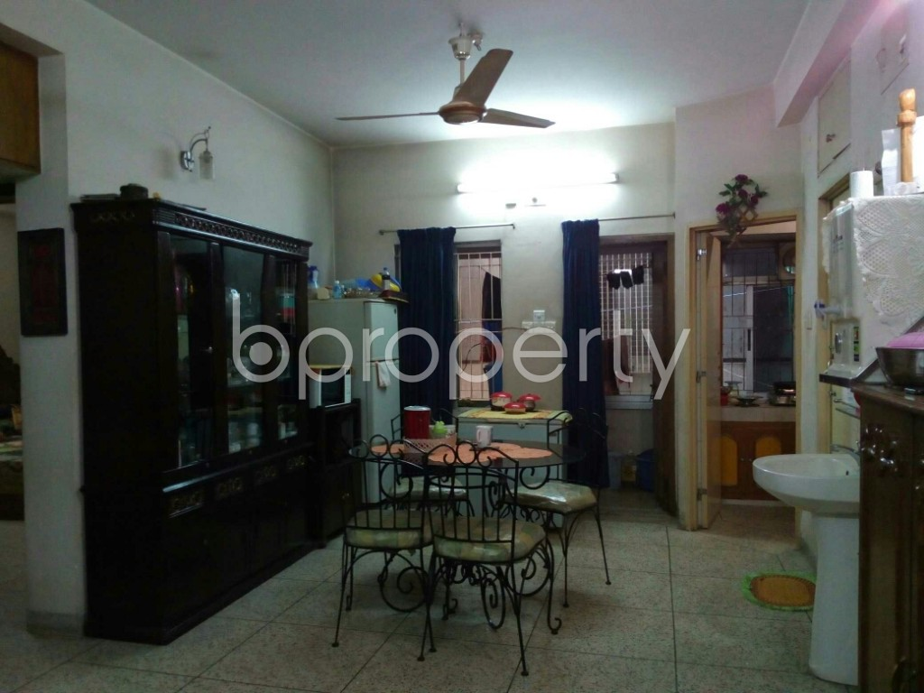 Dining area - 2 Bed Apartment for Sale in Dhanmondi, Dhaka - 1851383