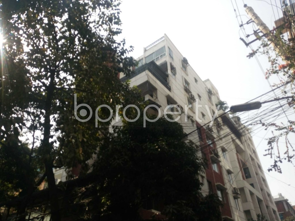 Outside view - 3 Bed Apartment for Sale in Banani, Dhaka - 1851473