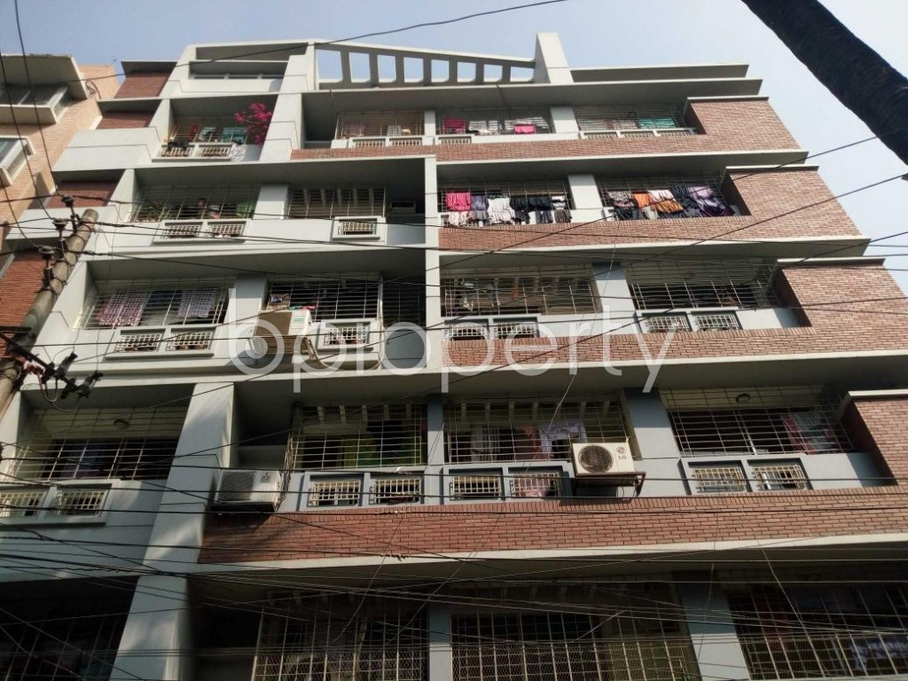 Front view - 3 Bed Apartment for Sale in Mohammadpur, Dhaka - 1852093