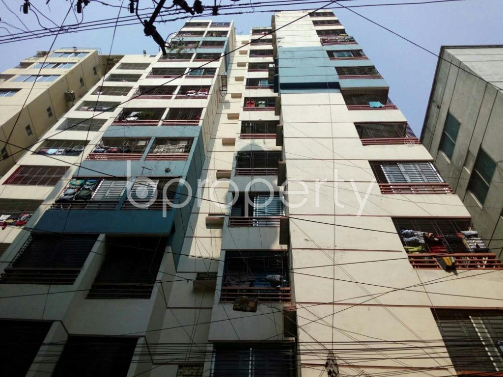 Front view - 3 Bed Apartment for Sale in Dhanmondi, Dhaka - 1852314