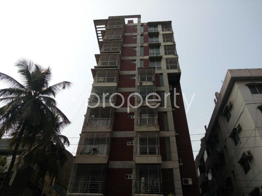 Front view - 3 Bed Apartment for Sale in Banani, Dhaka - 1853214