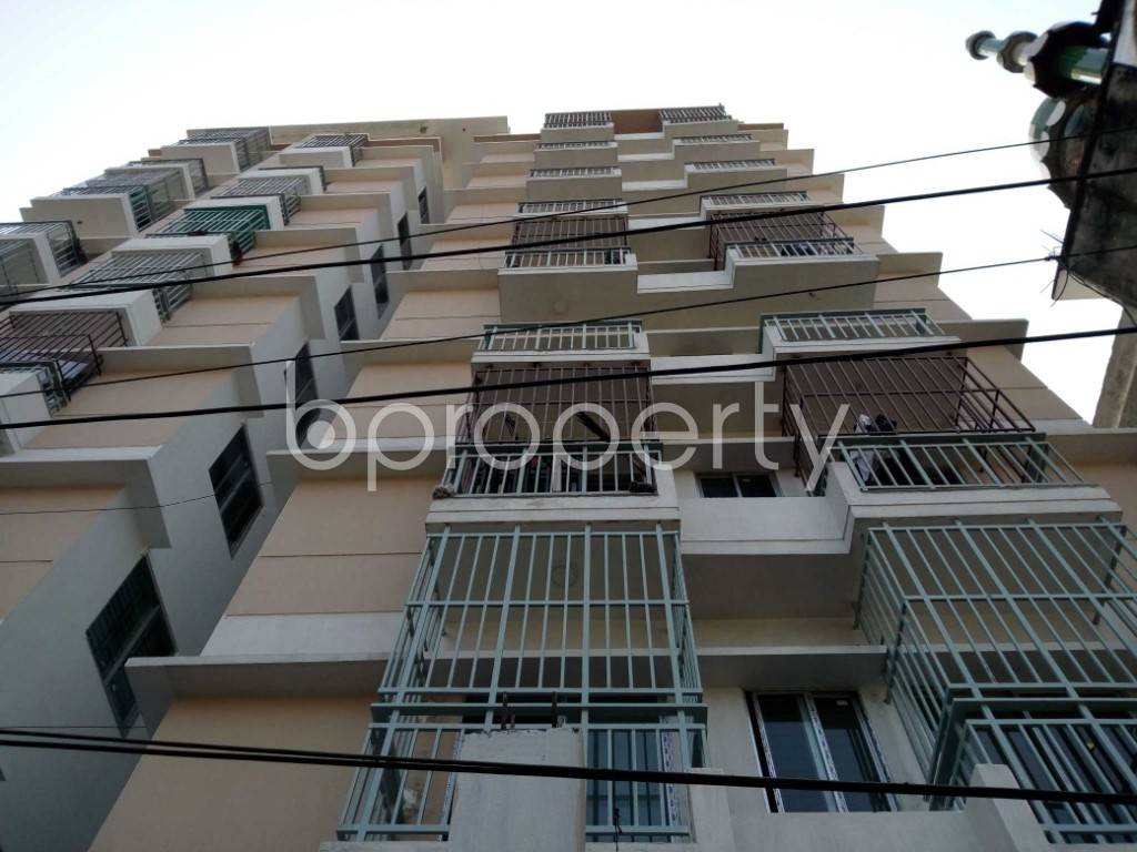 Front view - 3 Bed Apartment for Sale in Bakalia, Chattogram - 1853406
